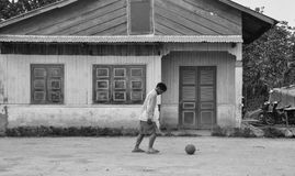 Maison de campagne dans Dalat, Vietnam Images libres de droits
