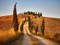 Maison de campagne de la Toscane Photos stock