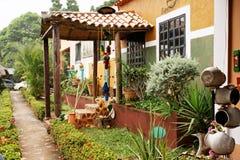 Maison de campagne tropicale image libre de droits