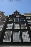 Maison de canal d'Amsterdam images stock