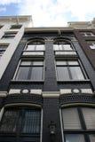 Maison de canal d'Amsterdam images libres de droits