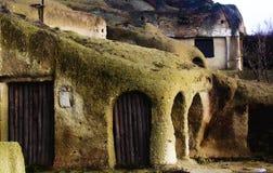 Maison de caverne Photo libre de droits
