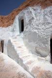Maison de caverne chez Matmata Photo libre de droits