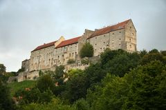 Maison de château Images stock
