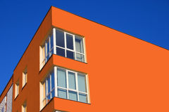 maison de coin de couleur de raccord en caoutchouc Photos stock