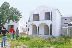 Maison de construction neuve Images stock