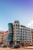 Maison de danse à Prague Photos libres de droits