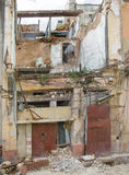 Maison de diminution des effectifs au Cuba Image stock