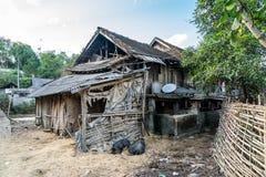 Maison de ferme de Sapa Images stock