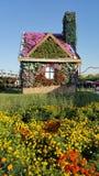 Maison de fleurs Images stock