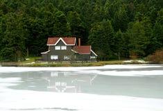 Maison de forêt Image libre de droits