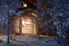 Maison de forêt Photos libres de droits