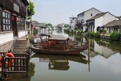 Maison de gens du pays de Chinois Photographie stock libre de droits