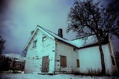 Maison de Ghost Images libres de droits
