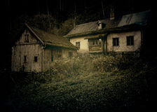 Maison de Ghost Photos libres de droits