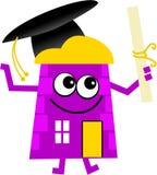 maison de graduation illustration de vecteur