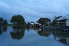 Maison de hôtes avec la forêt de lMangrove Photo libre de droits