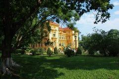 Maison de Ho Chi Minh à Hanoï, Vietnam Photographie stock libre de droits