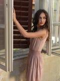 Maison de jeune femme de verticale de mode de cru vieille Photos libres de droits