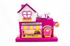 Maison de jouet Photographie stock libre de droits