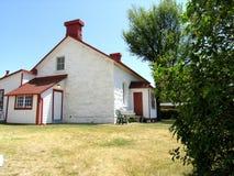 Maison de l'homme de phare. Photos stock