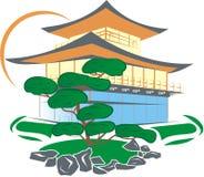 Maison de la Chine Photos libres de droits