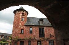 Maison de la Ramade De Friac, Collonges-La-fard à joues (Frances) Photographie stock