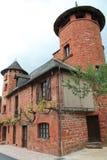Maison de la Ramade de Friac, Collonges-la-Rouge ( France ) Stock Image