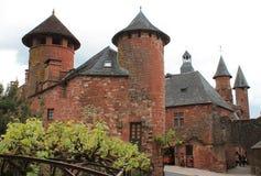 Maison DE La Ramade DE Friac, collonges-La-Rouge (Frankrijk) royalty-vrije stock foto's