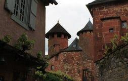 Maison DE La Ramade DE Friac, collonges-La-Rouge (Frankrijk) Stock Fotografie