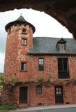 Maison de la Ramade de Friac, Collonges-la-rouge (Frankrike) Royaltyfri Bild