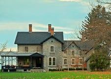 Maison de lac Image stock