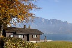 Maison de Lakeview Image libre de droits