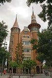 Maison de les Punxes, Barcelone Photo libre de droits