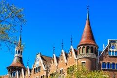 Maison de les Punxes - la Chambre de La des transitoires à Barcelone, Espagne Photos libres de droits