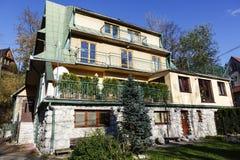 Maison de logement dans Zakopane, Pologne Photos libres de droits
