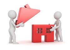 Maison de logement du bâtiment house illustration de vecteur