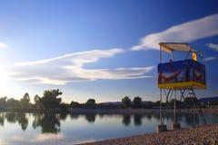 Maison de maître nageur Image libre de droits