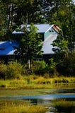 Maison de marais Image libre de droits