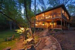 Maison de montagne Images stock