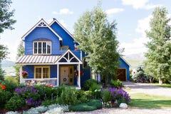 Maison de montagne Images libres de droits
