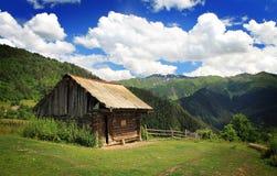 Maison de montagne Photographie stock libre de droits