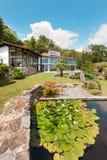 Maison de montagne, extérieure Image libre de droits