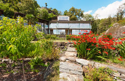 Maison de montagne, extérieure Image stock