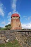 Maison de moulin à vent Photographie stock