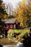Maison de moulin Photos libres de droits