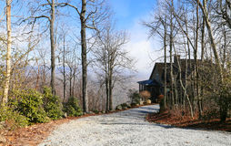 Maison de Mountain View Photographie stock