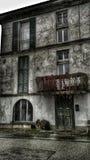 Maison de mystère image stock