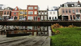 Maison de Néerlandais de Tipical Photo libre de droits