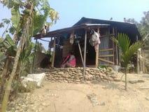 Maison de Naga Image libre de droits